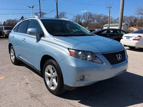 2010 Lexus RX 350 for sale at I-80 Auto Sales in Hazel Crest IL