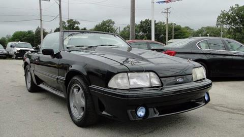1992 Ford Mustang for sale at I-80 Auto Sales in Hazel Crest IL