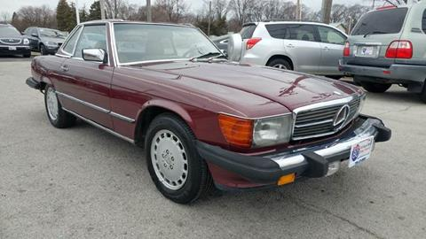 1987 Mercedes-Benz 560-Class for sale at I-80 Auto Sales in Hazel Crest IL
