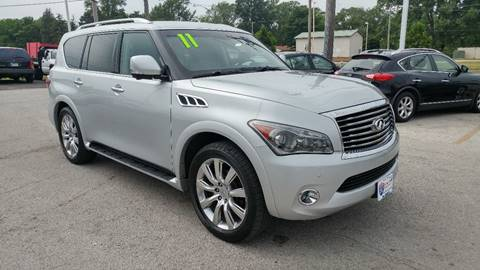 2011 Infiniti QX56 for sale at I-80 Auto Sales in Hazel Crest IL