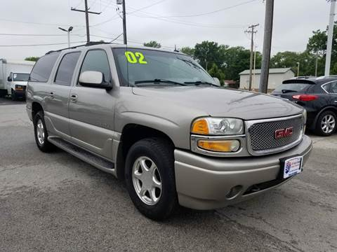 2002 GMC Yukon XL for sale at I-80 Auto Sales in Hazel Crest IL