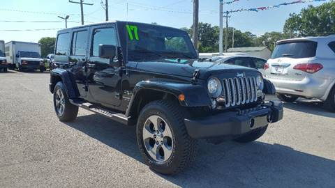 2017 Jeep Wrangler Unlimited for sale at I-80 Auto Sales in Hazel Crest IL