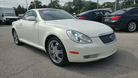 2002 Lexus SC 430 for sale at I-80 Auto Sales in Hazel Crest IL