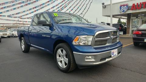 2011 RAM Ram Pickup 1500 for sale at I-80 Auto Sales in Hazel Crest IL