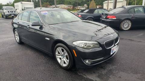 2013 BMW 5 Series for sale at I-80 Auto Sales in Hazel Crest IL