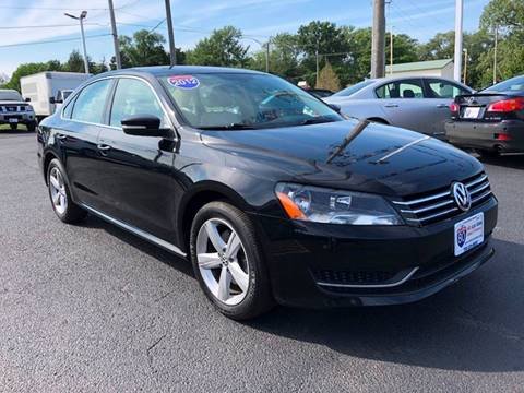 2012 Volkswagen Passat for sale at I-80 Auto Sales in Hazel Crest IL
