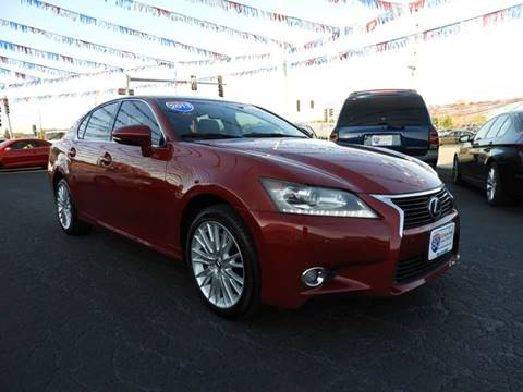 2013 Lexus GS 350 for sale at I-80 Auto Sales in Hazel Crest IL