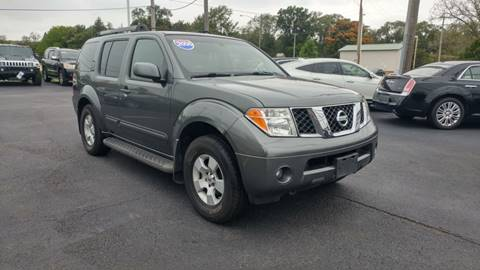 2006 Nissan Pathfinder for sale at I-80 Auto Sales in Hazel Crest IL