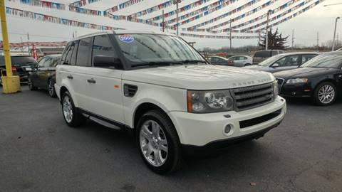 2006 Land Rover Range Rover Sport for sale at I-80 Auto Sales in Hazel Crest IL