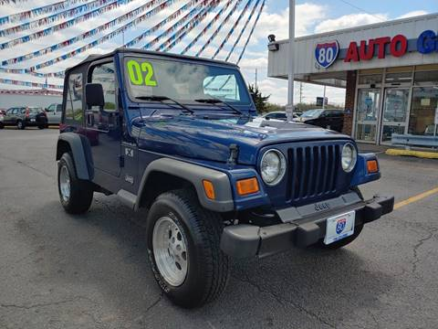 2002 Jeep Wrangler for sale in Hazel Crest, IL