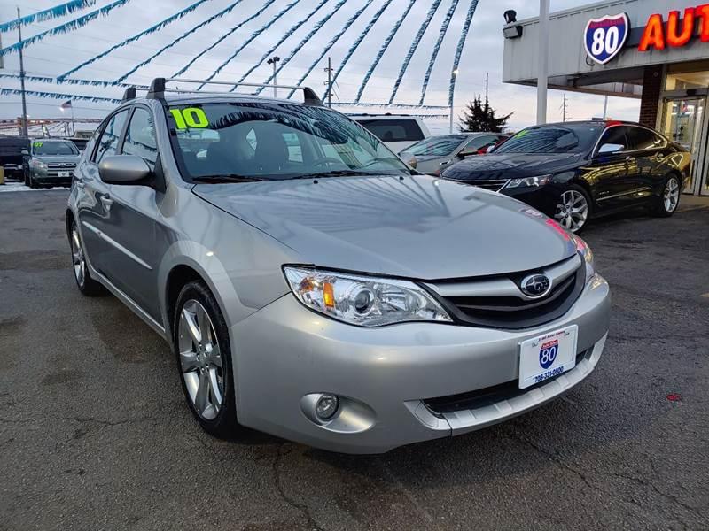 2010 Subaru Impreza for sale at I-80 Auto Sales in Hazel Crest IL