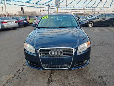 2008 Audi A4 for sale at I-80 Auto Sales in Hazel Crest IL