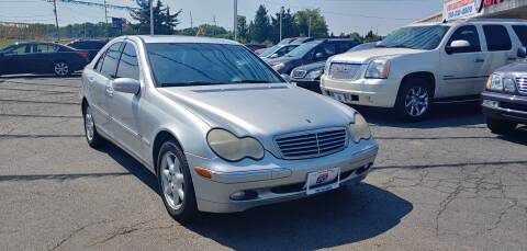 2004 Mercedes-Benz C-Class for sale at I-80 Auto Sales in Hazel Crest IL