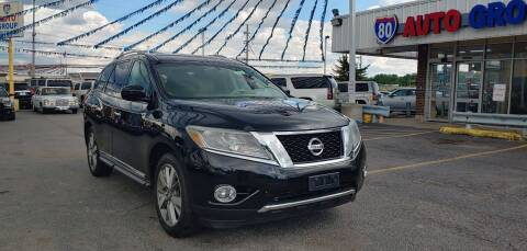 2013 Nissan Pathfinder for sale at I-80 Auto Sales in Hazel Crest IL
