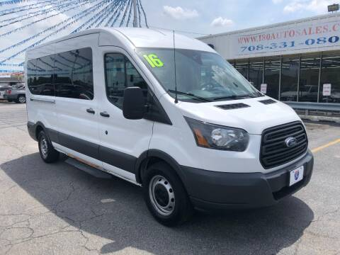 2016 Ford Transit Passenger for sale at I-80 Auto Sales in Hazel Crest IL