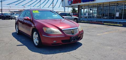 2005 Acura RL for sale at I-80 Auto Sales in Hazel Crest IL