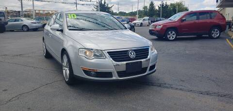 2010 Volkswagen Passat for sale at I-80 Auto Sales in Hazel Crest IL