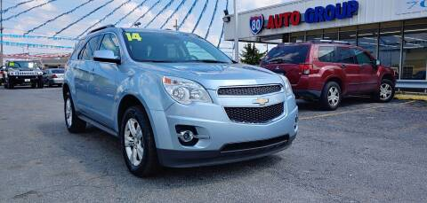 2014 Chevrolet Equinox for sale at I-80 Auto Sales in Hazel Crest IL