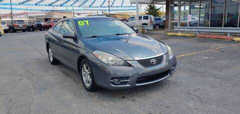 2007 Toyota Camry Solara for sale at I-80 Auto Sales in Hazel Crest IL