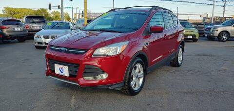 2014 Ford Escape for sale at I-80 Auto Sales in Hazel Crest IL