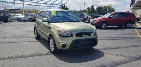 2012 Kia Soul for sale at I-80 Auto Sales in Hazel Crest IL