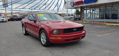 2009 Ford Mustang for sale at I-80 Auto Sales in Hazel Crest IL