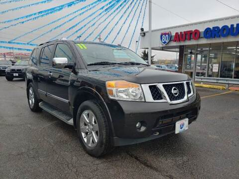 2011 Nissan Armada for sale at I-80 Auto Sales in Hazel Crest IL