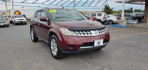 2006 Nissan Murano for sale at I-80 Auto Sales in Hazel Crest IL