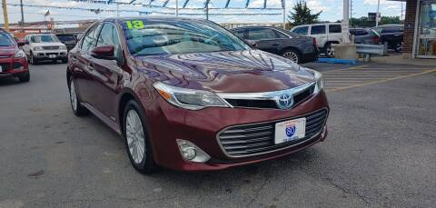 2013 Toyota Avalon Hybrid for sale at I-80 Auto Sales in Hazel Crest IL
