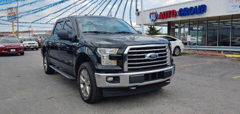 2017 Ford F-150 for sale at I-80 Auto Sales in Hazel Crest IL