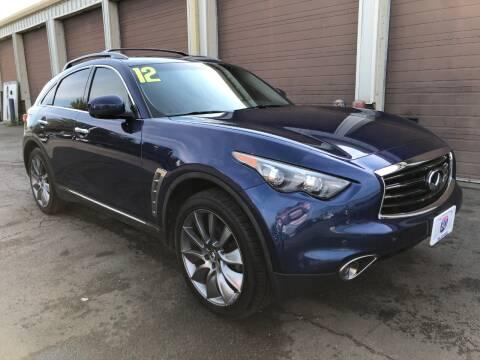 2012 Infiniti FX35 for sale at I-80 Auto Sales in Hazel Crest IL