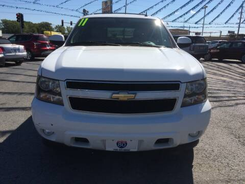 2011 Chevrolet Tahoe for sale at I-80 Auto Sales in Hazel Crest IL