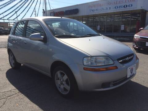 2006 Chevrolet Aveo for sale at I-80 Auto Sales in Hazel Crest IL
