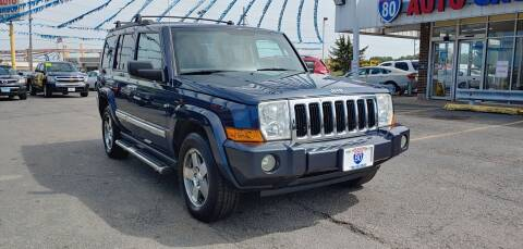 2010 Jeep Commander for sale at I-80 Auto Sales in Hazel Crest IL