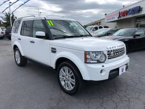 2011 Land Rover LR4 for sale at I-80 Auto Sales in Hazel Crest IL