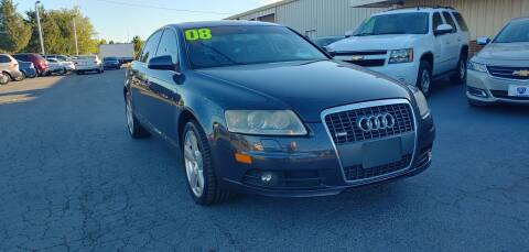 2008 Audi A6 for sale at I-80 Auto Sales in Hazel Crest IL