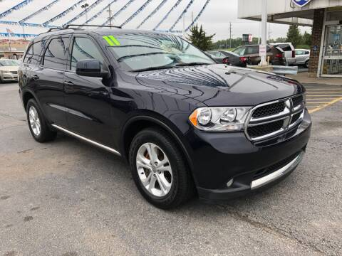 2011 Dodge Durango for sale at I-80 Auto Sales in Hazel Crest IL