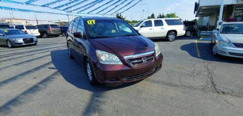 2007 Honda Odyssey for sale at I-80 Auto Sales in Hazel Crest IL