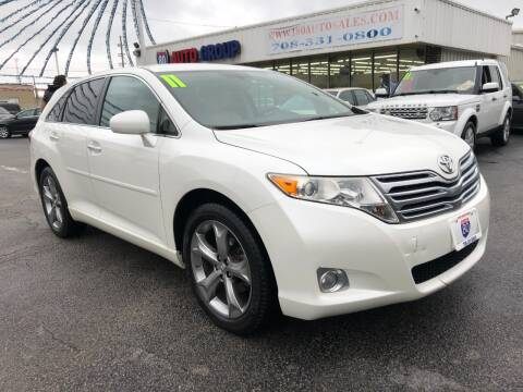 2011 Toyota Venza for sale at I-80 Auto Sales in Hazel Crest IL