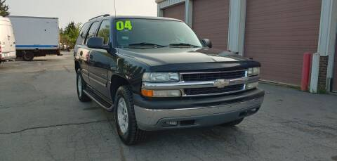 2004 Chevrolet Tahoe for sale at I-80 Auto Sales in Hazel Crest IL