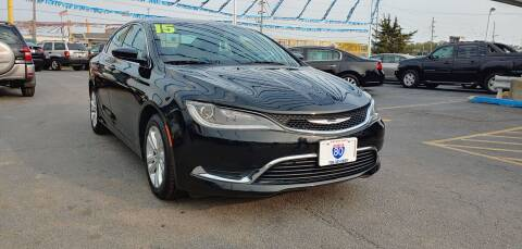 2015 Chrysler 200 for sale at I-80 Auto Sales in Hazel Crest IL