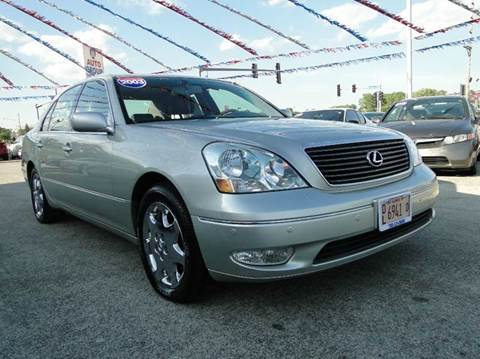 2003 Lexus LS 430 for sale at I-80 Auto Sales in Hazel Crest IL
