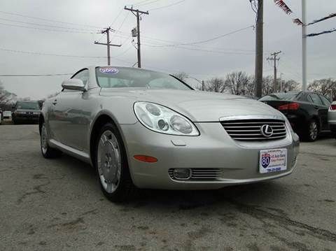 2003 Lexus SC 430 for sale at I-80 Auto Sales in Hazel Crest IL