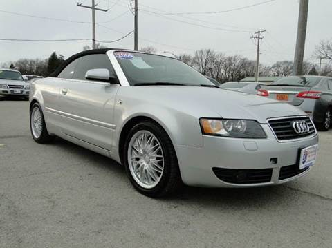 2006 Audi A4 for sale at I-80 Auto Sales in Hazel Crest IL