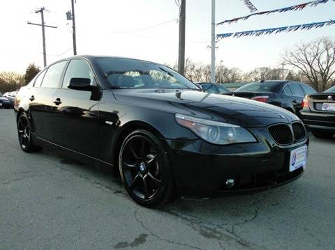 2005 BMW 5 Series for sale at I-80 Auto Sales in Hazel Crest IL