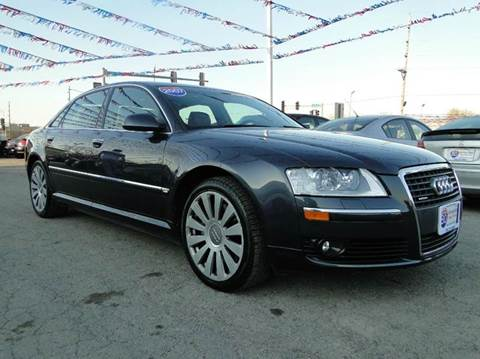2007 Audi A8 for sale at I-80 Auto Sales in Hazel Crest IL