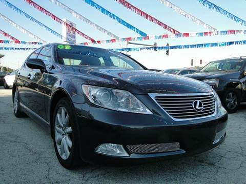 2008 Lexus LS 460 for sale at I-80 Auto Sales in Hazel Crest IL
