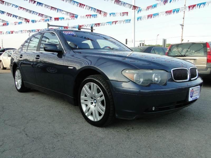 2002 BMW 7 Series In Hazel Crest IL - I-80 Auto Sales