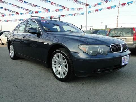 2002 BMW 7 Series for sale at I-80 Auto Sales in Hazel Crest IL