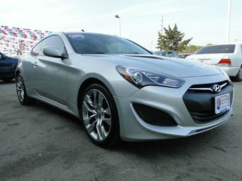 2013 Hyundai Genesis Coupe for sale at I-80 Auto Sales in Hazel Crest IL